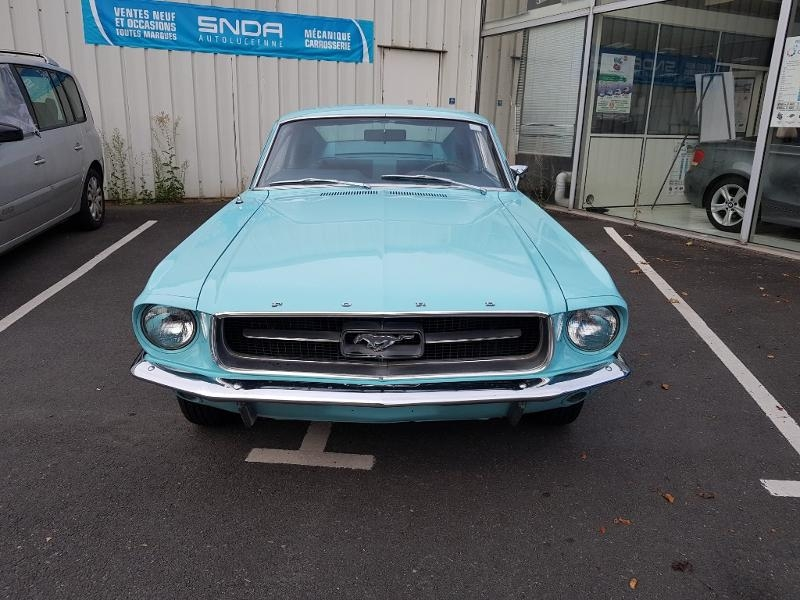 Ford Mustang Fastback 289 ci Essence Bleu turquoise Occasion à vendre