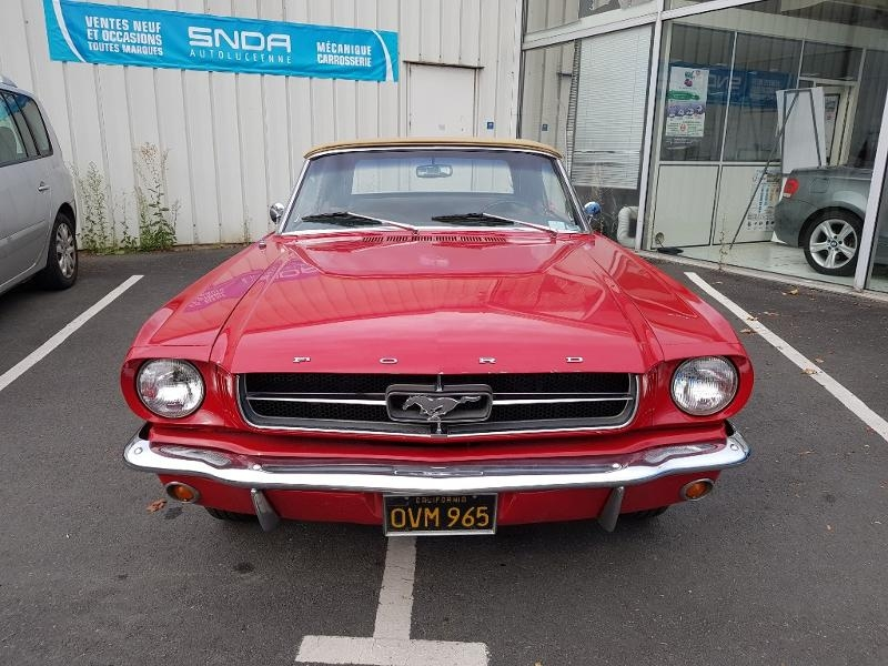 Ford Mustang convertible 289 ci code c Essence Rouge Occasion à vendre